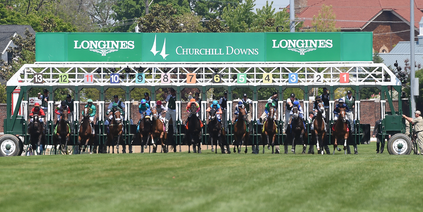 Longines Flat Racing Event: American Pharoah gallops to victory in front of record crowd at the 141st Kentucky Derby  4