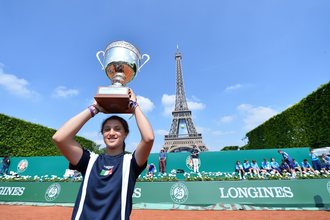 Longines  Event: Longines Future Tennis Aces 2015: a meeting of talented young players in the heart of Paris 7