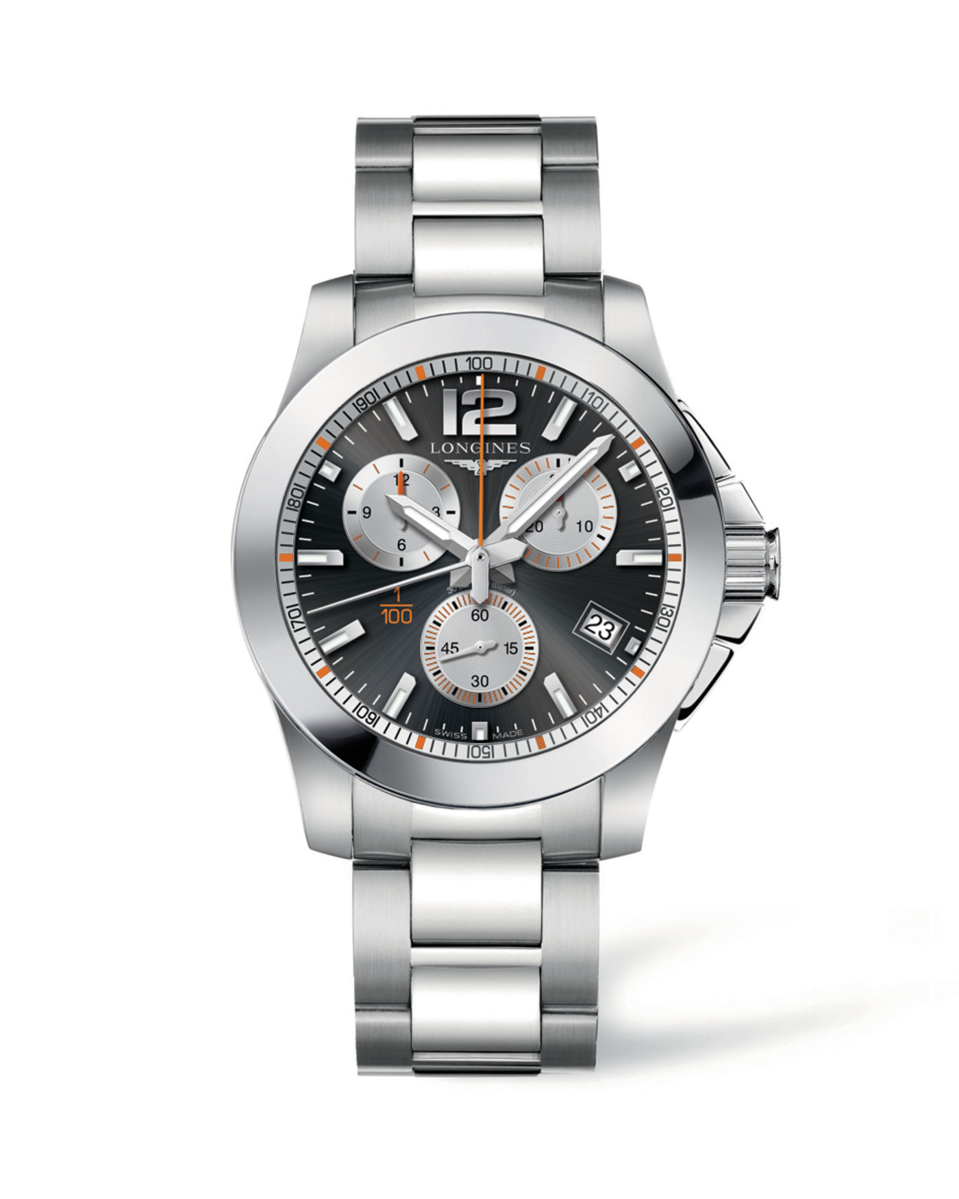 Longines Conquest 1/100th Roland Garros Watch 1
