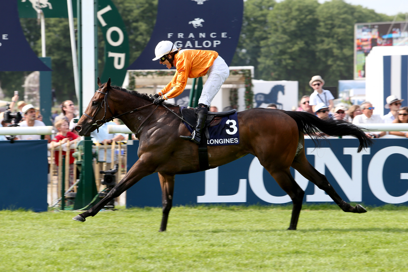 Longines Flat Racing Event: The Prix de Diane Longines – 45'000 spectators, 9 races, 1 Queen of Elegance and 1 King of the Prix de Diane Longines 14