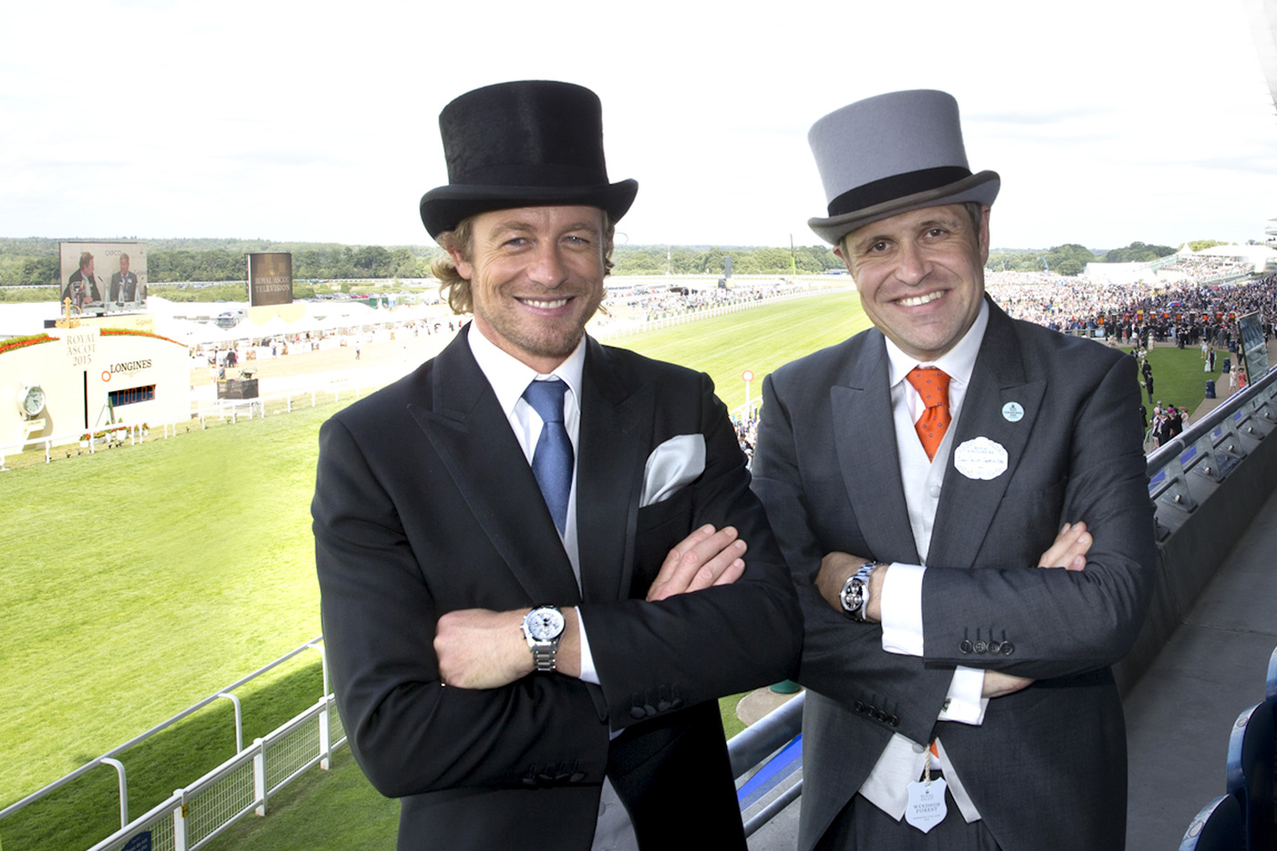 Longines Flat Racing Event: Longines Ambassador of Elegance Simon Baker at Royal Ascot for a very British Day at the Races  7