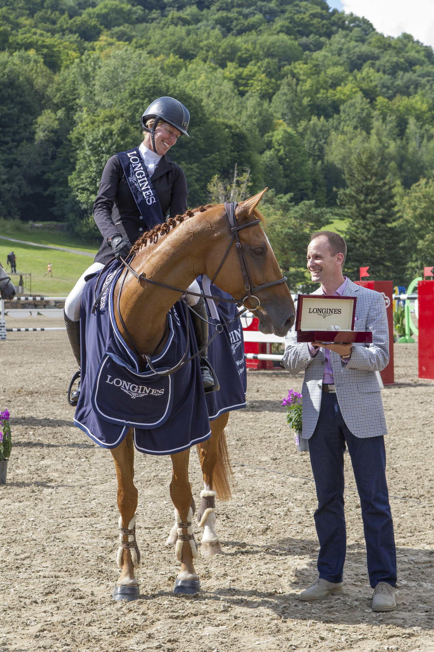Longines Show Jumping Event: Longines FEI World Cup Jumping North American League at Bromont, Canada  5