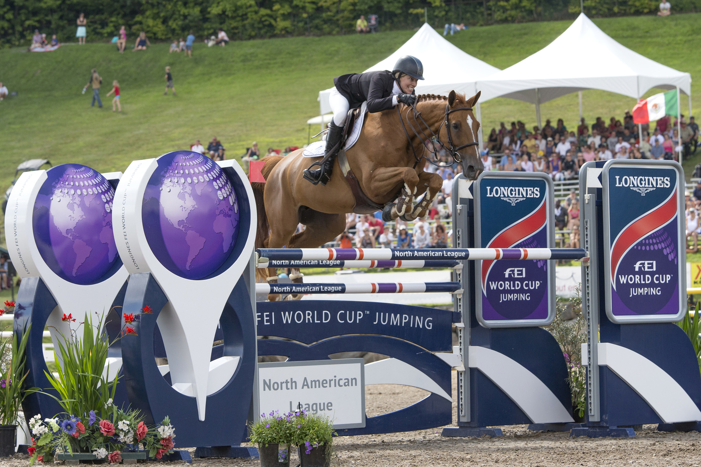 Longines Show Jumping Event: Longines FEI World Cup Jumping North American League at Bromont, Canada  6