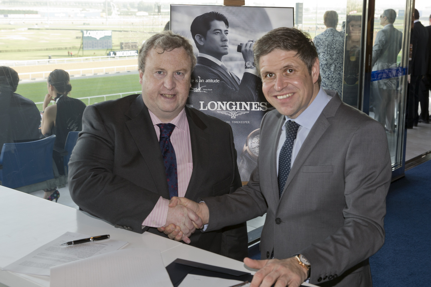 Longines Flat Racing Event: Launch of the Longines Irish Champions Weekend 1
