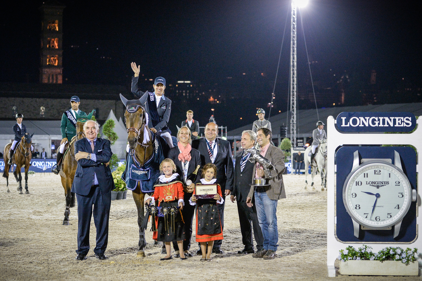 Longines Show Jumping Event: Laura Kraut (USA) wins the Longines Grand Prix of St. Moritz 1