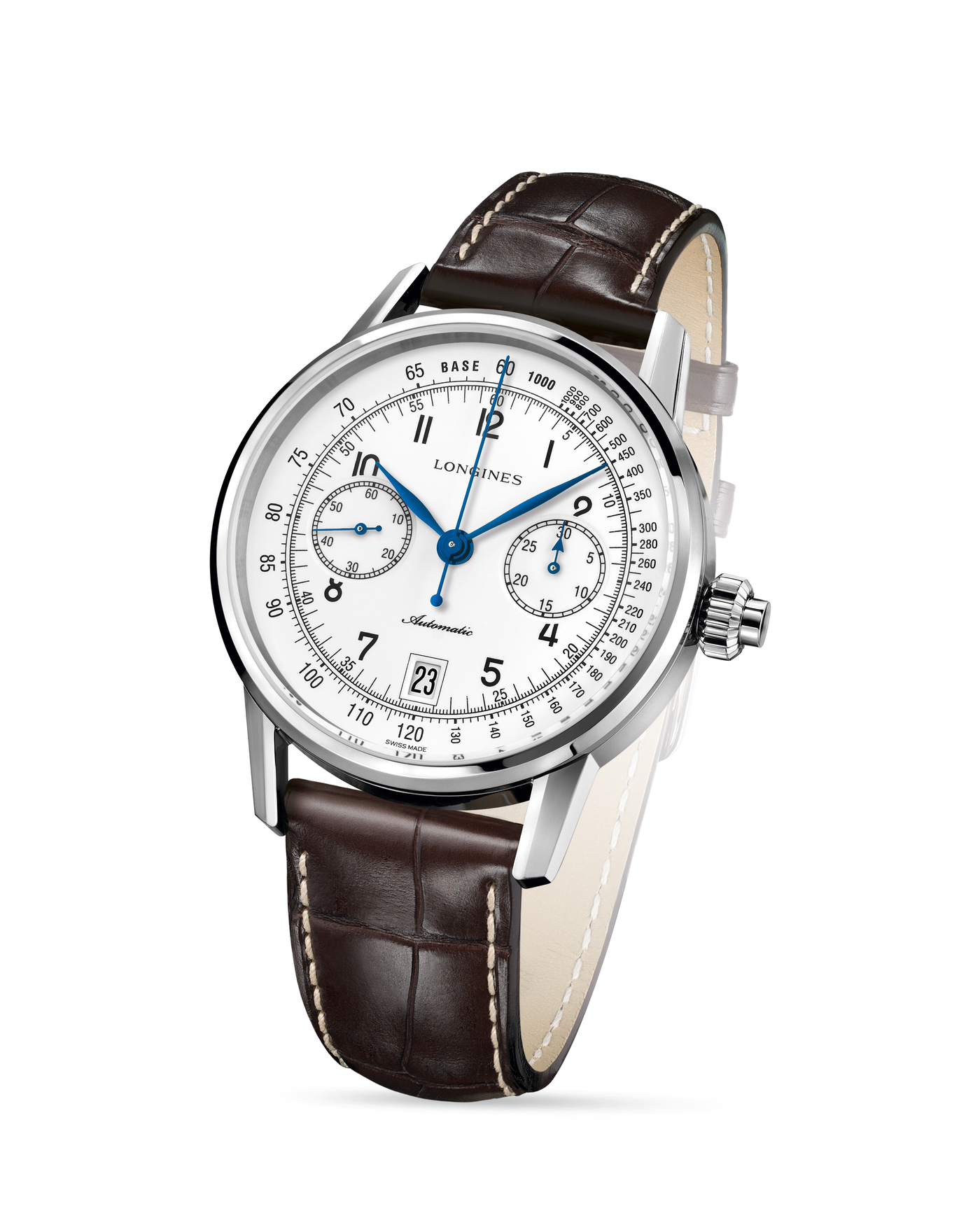 Longines The Longines Column-Wheel Single Push-Piece Chronograph  Watch 2