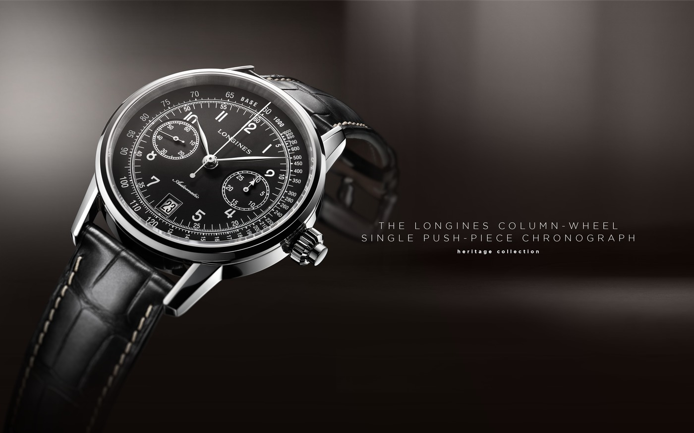 Longines The Longines Column-Wheel Single Push-Piece Chronograph  Watch 4