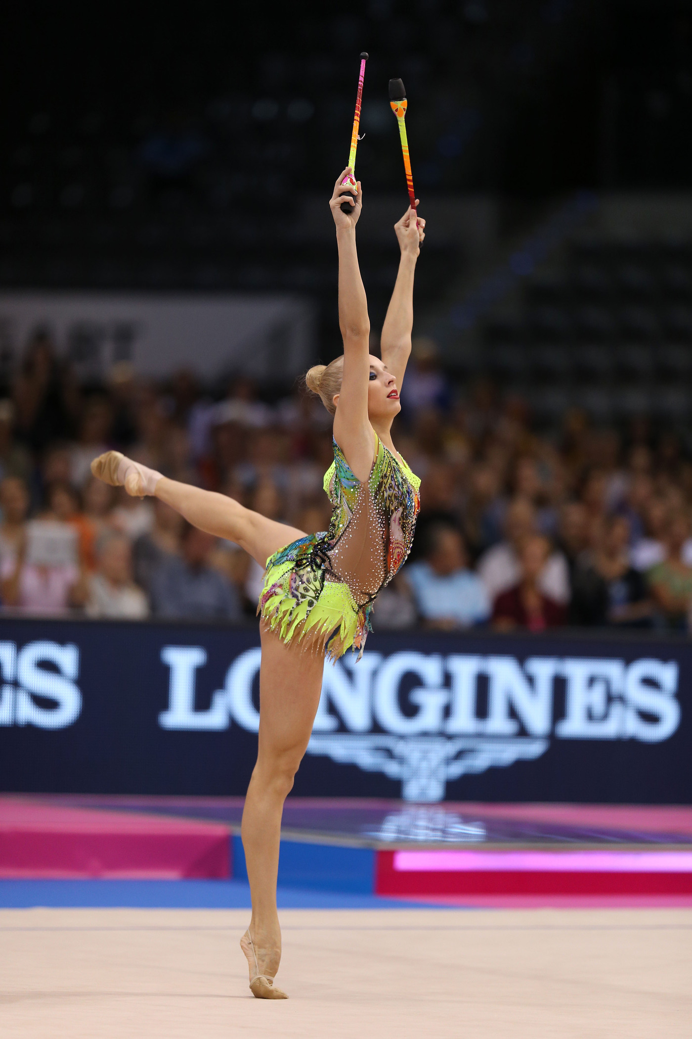 Longines Gymnastics Event: Margarita Mamun awarded with the Longines Prize for Elegance at the 34th Rhythmic Gymnastics World Championships 2015 7
