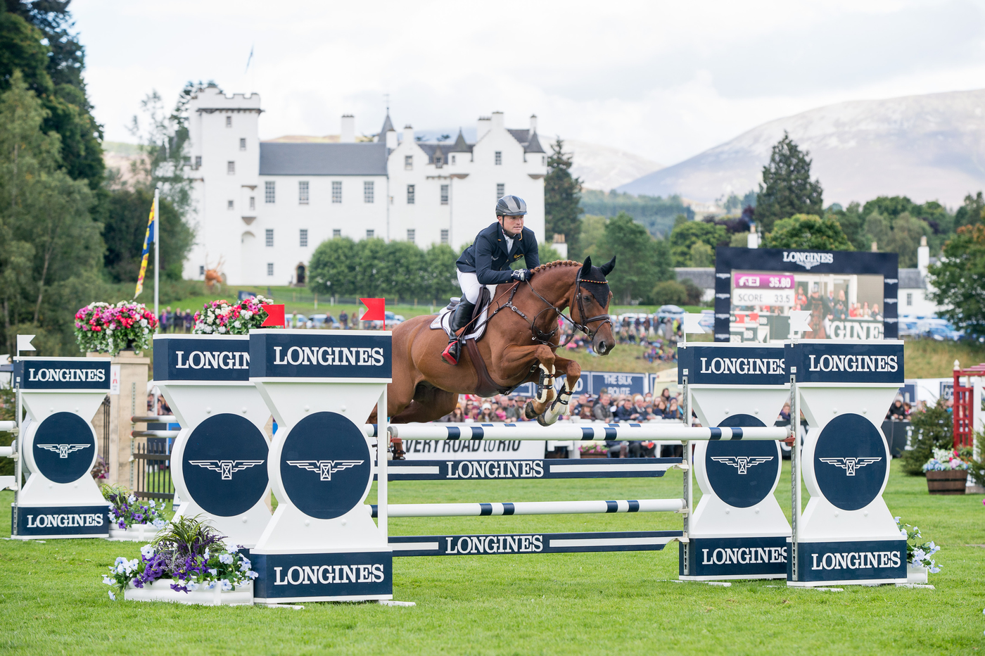 Longines Eventing Event: the Longines FEI European Eventing Championship 2015 (Blair Castle) 2