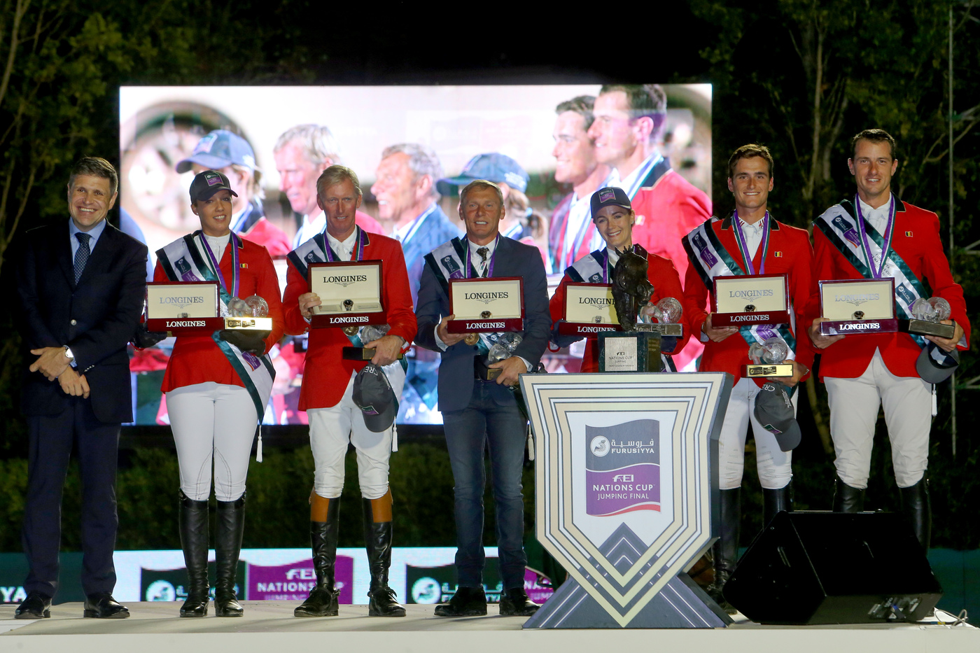 Longines Show Jumping Event: Longines timed the victory of Team Belgium at the Furusiyya FEI Nations CupTM Jumping final  3