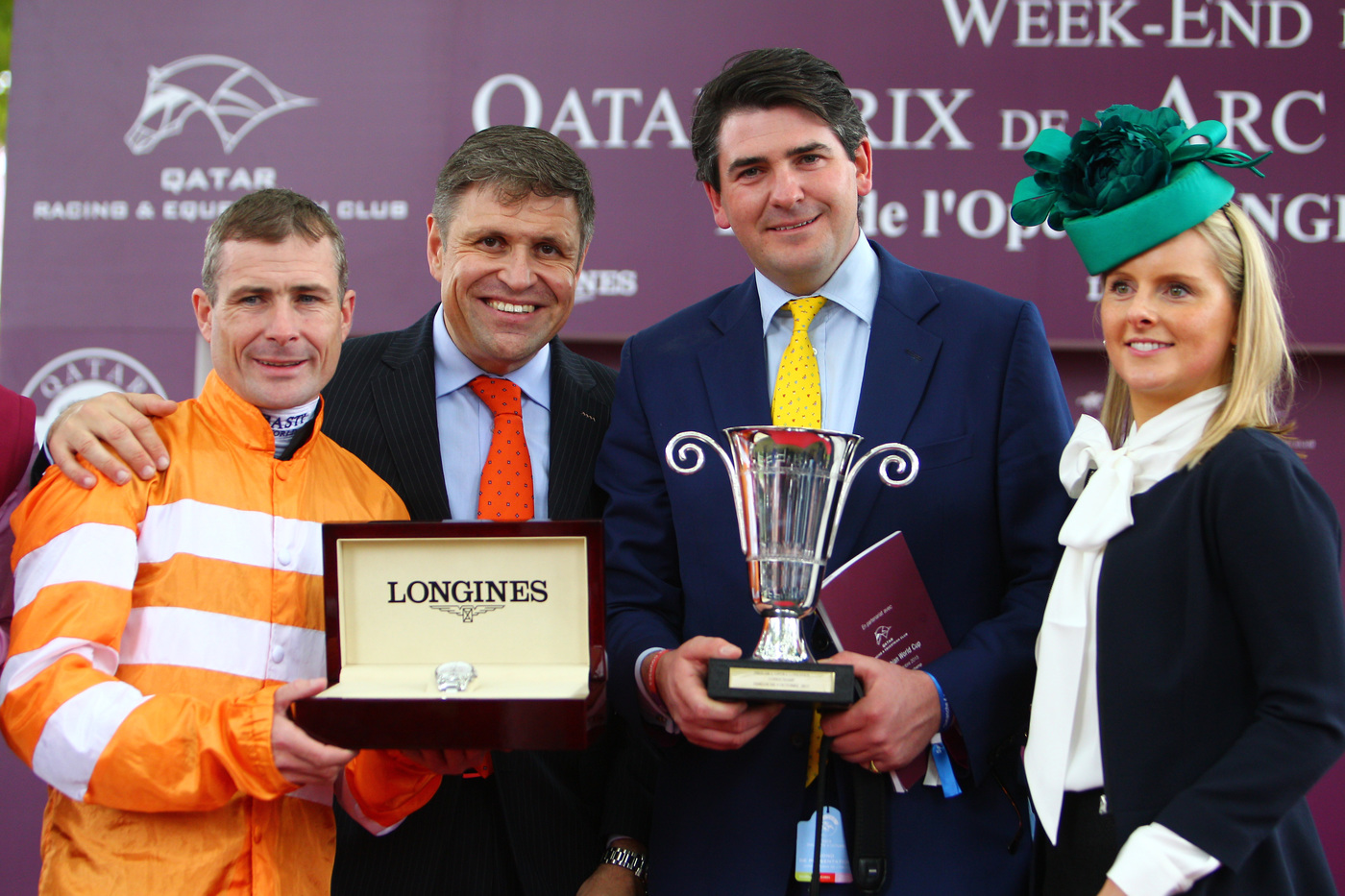 Longines Flat Racing Event: Qatar Prix de l'Arc de Triomphe : a thrilling race day timed by Longines  2