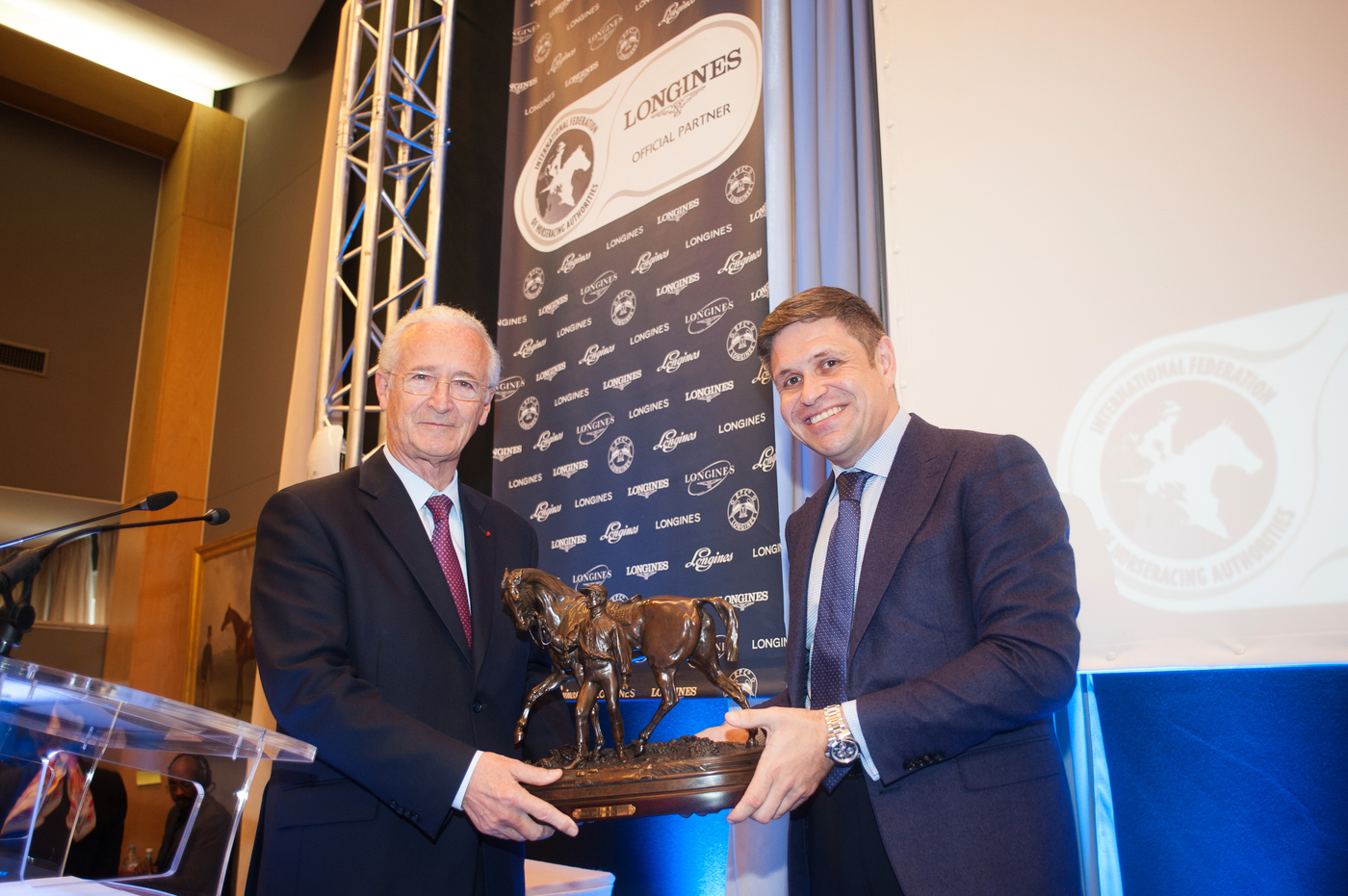Longines Flat Racing Event: Longines announces the creation of the Longines World's Best Horse Race award and the extension of its partnership with the IFHA  1