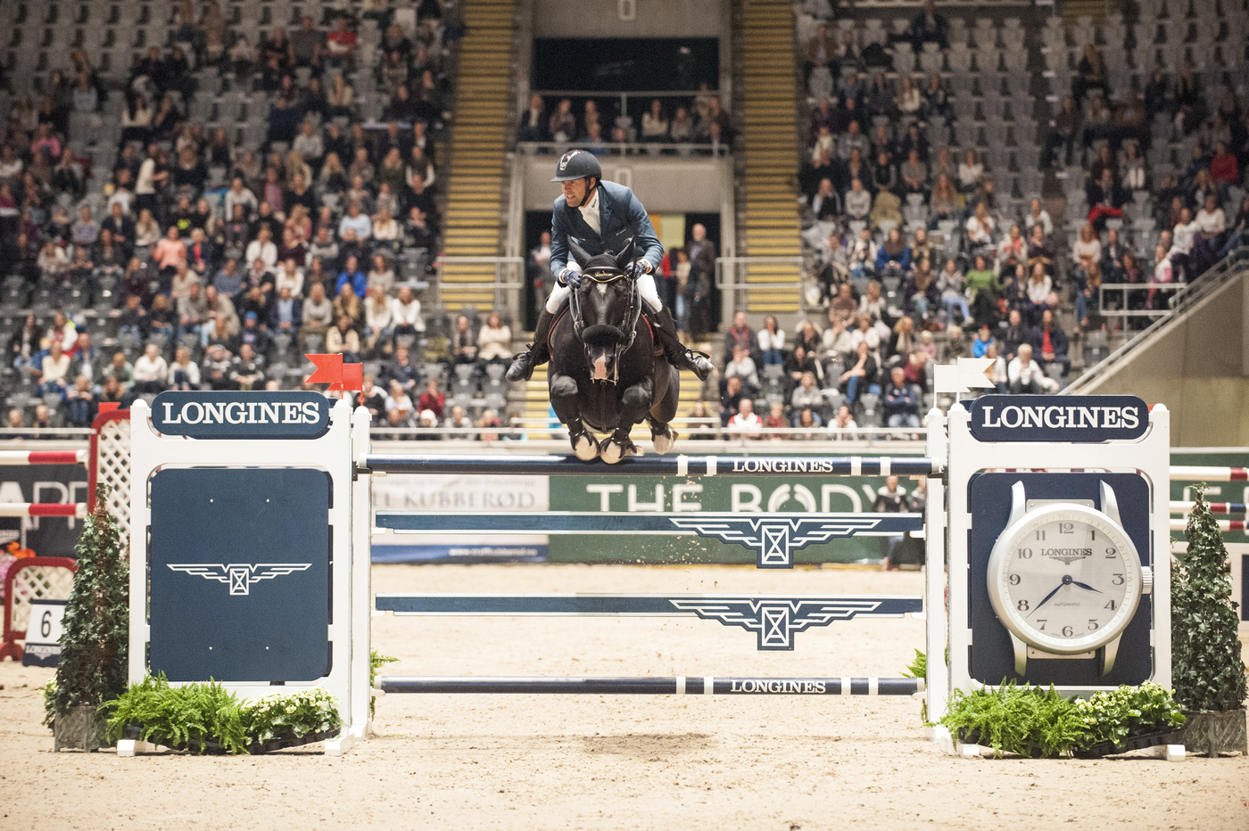 Longines Show Jumping Event: French riders rule the first leg of the Longines FEI World Cup™ Jumping in Oslo 4