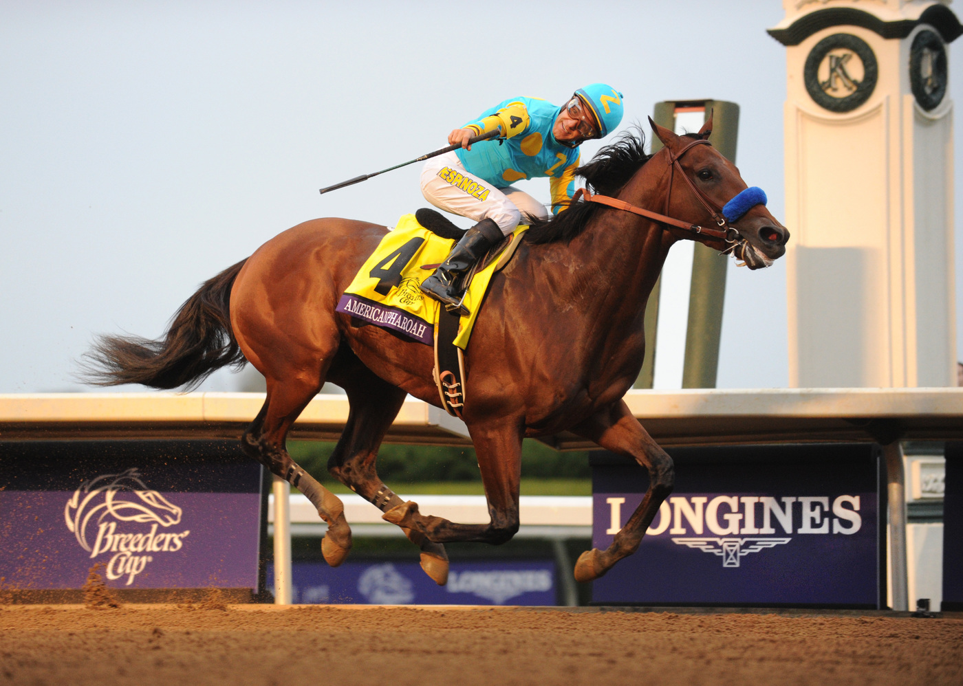 Longines Flat Racing Event: Longines times American Pharoah's historic victory in Breeders' Cup Classic 1