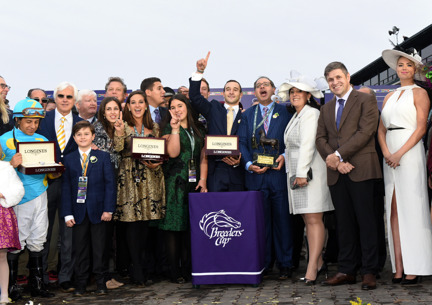 Longines Flat Racing Event: Longines times American Pharoah's historic victory in Breeders' Cup Classic 2