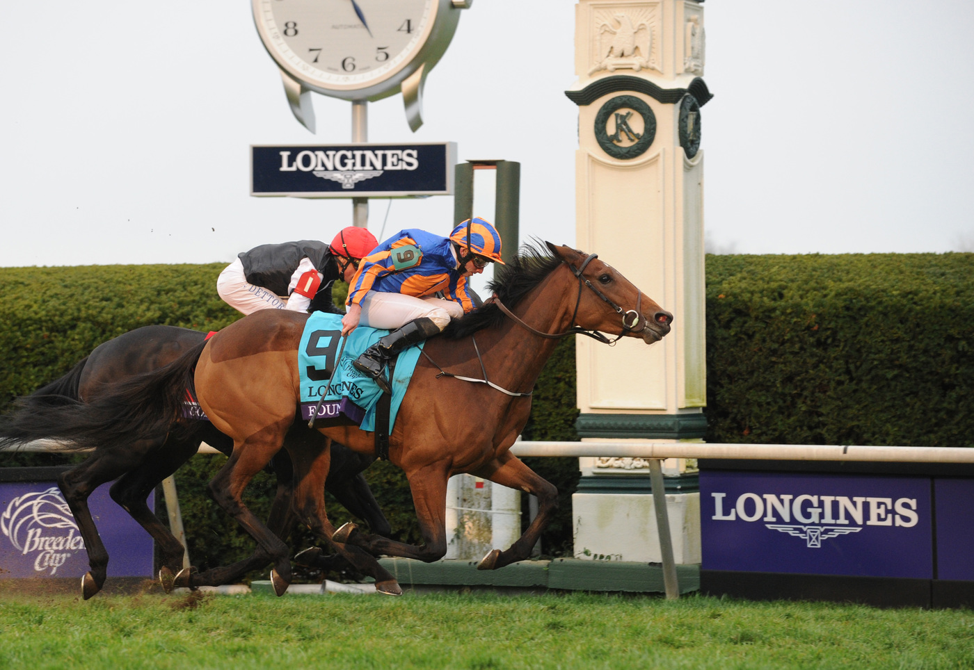 Longines Flat Racing Event: Longines times American Pharoah's historic victory in Breeders' Cup Classic 3