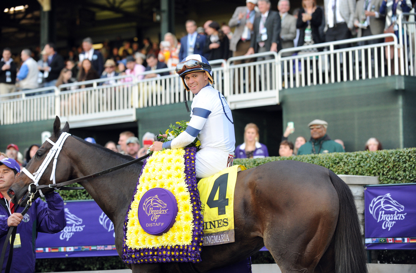 Longines Flat Racing Event: Longines times American Pharoah's historic victory in Breeders' Cup Classic 6