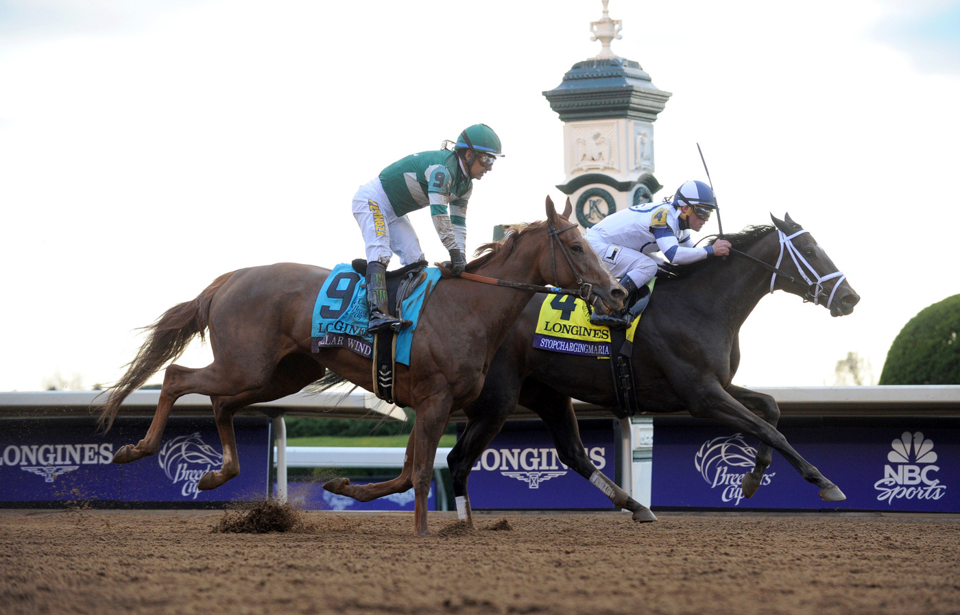 Longines Flat Racing Event: Longines times American Pharoah's historic victory in Breeders' Cup Classic 7