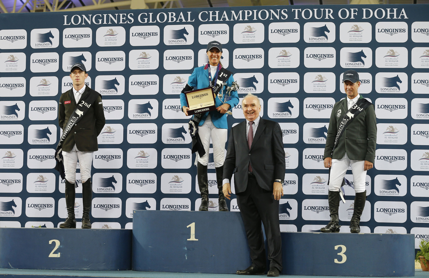 Longines Show Jumping Event: Doha hosts the finale of the 2015 Longines Global Champions Tour 1
