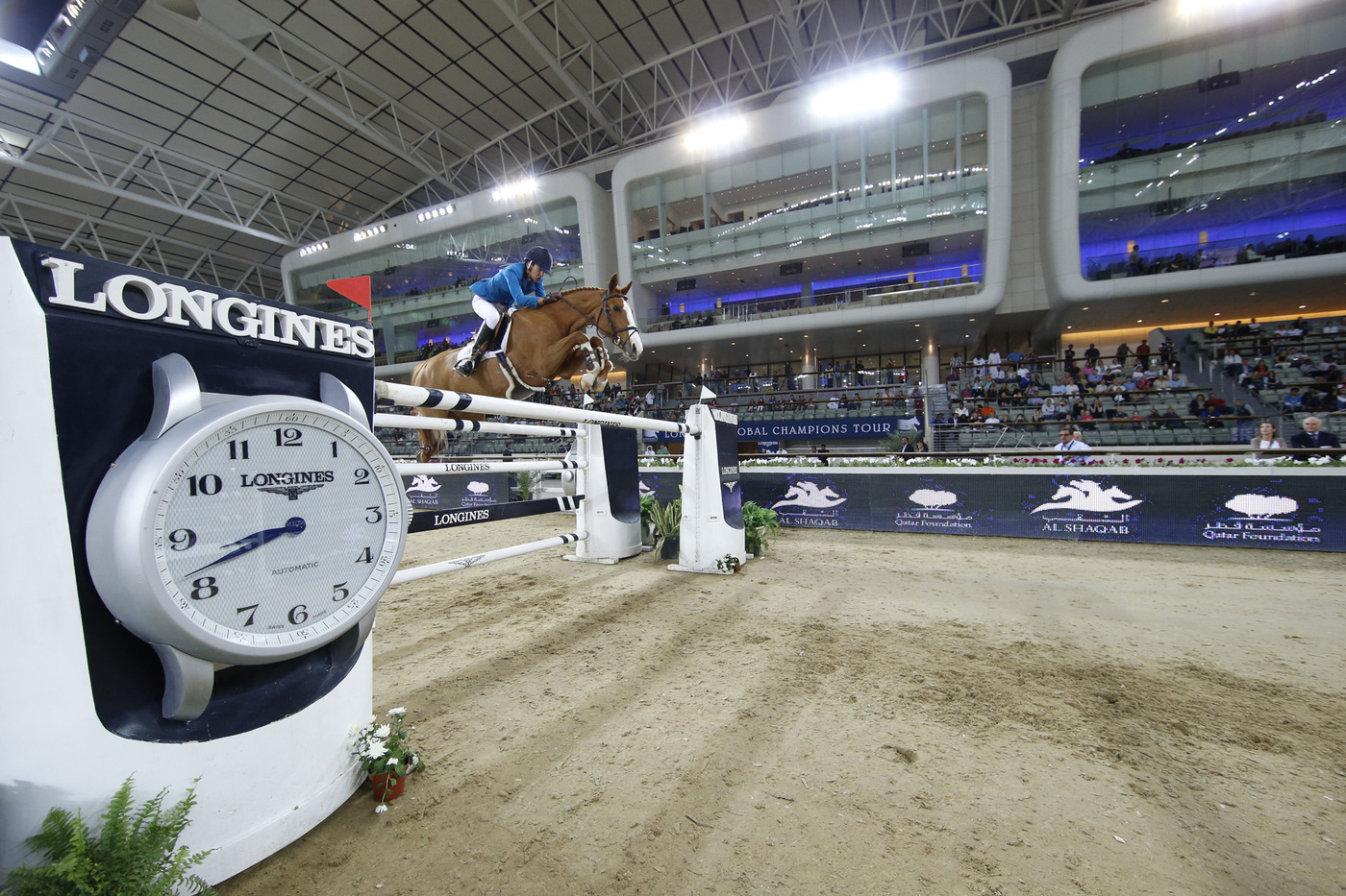 Longines Show Jumping Event: Doha hosts the finale of the 2015 Longines Global Champions Tour 2