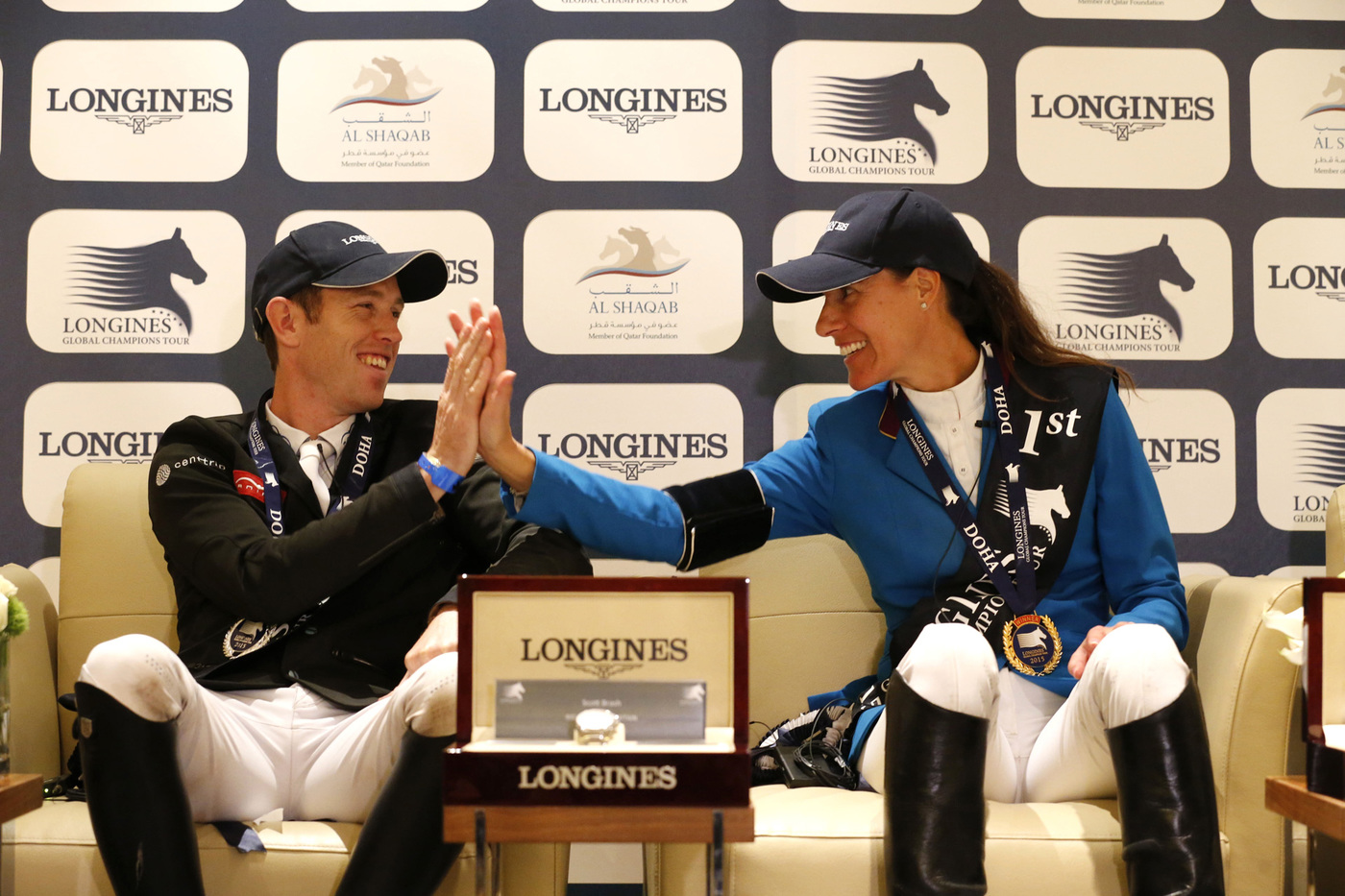 Longines Show Jumping Event: Doha hosts the finale of the 2015 Longines Global Champions Tour 5