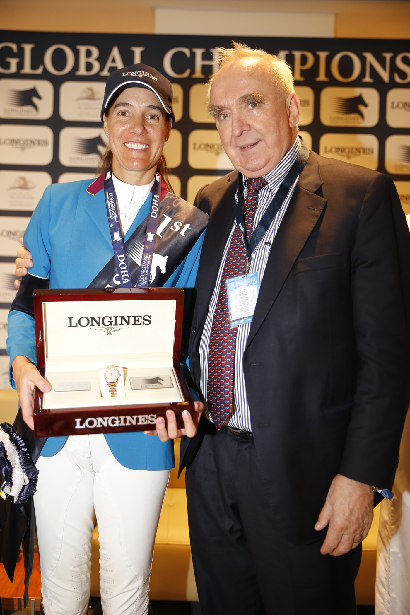 Longines Show Jumping Event: Doha hosts the finale of the 2015 Longines Global Champions Tour 6