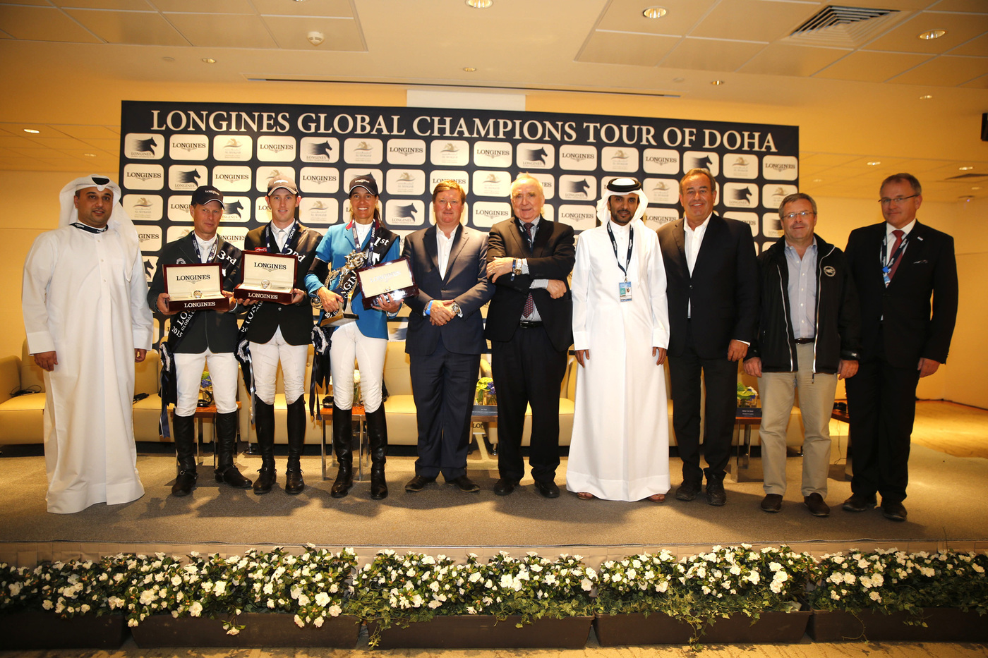 Longines Show Jumping Event: Doha hosts the finale of the 2015 Longines Global Champions Tour 7