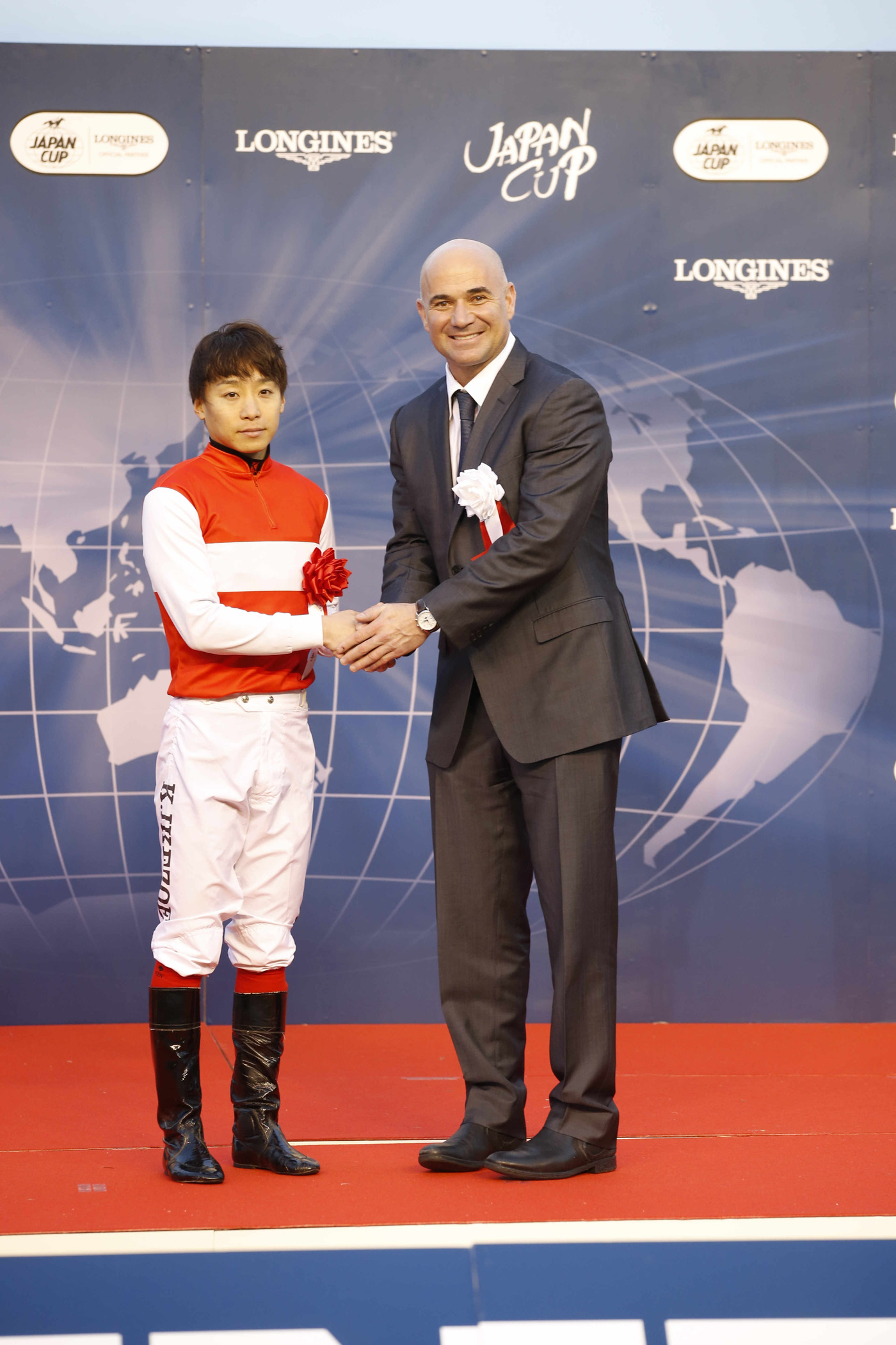 Longines Flat Racing Event: 2015 Japan Cup in association with Longines won by Shonan Pandora 3