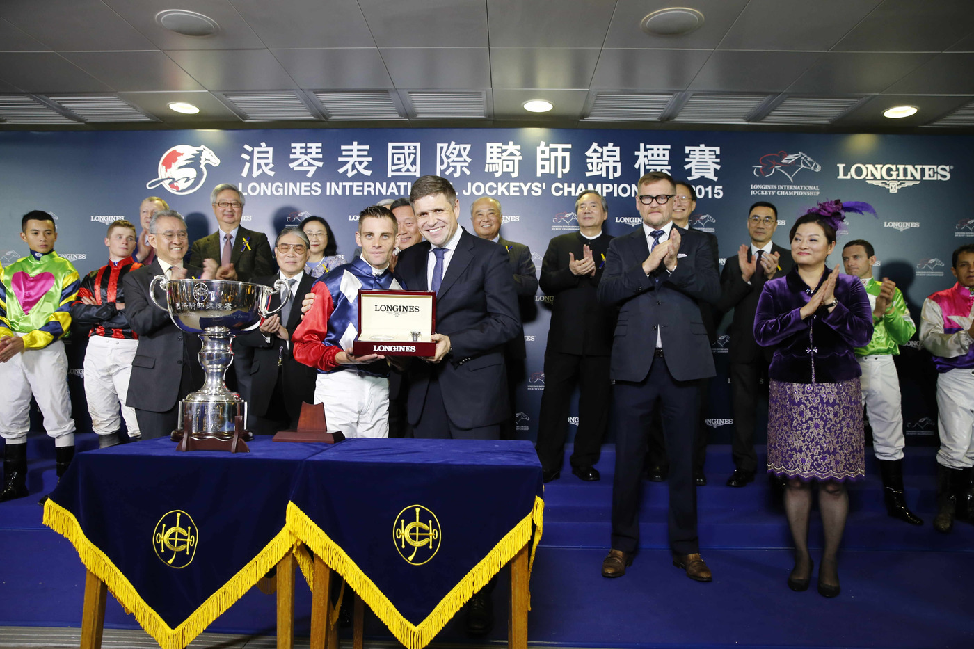 Longines Flat Racing Event: The Longines International Jockeys' Championship 2015: The battle of the world's best jockeys 1