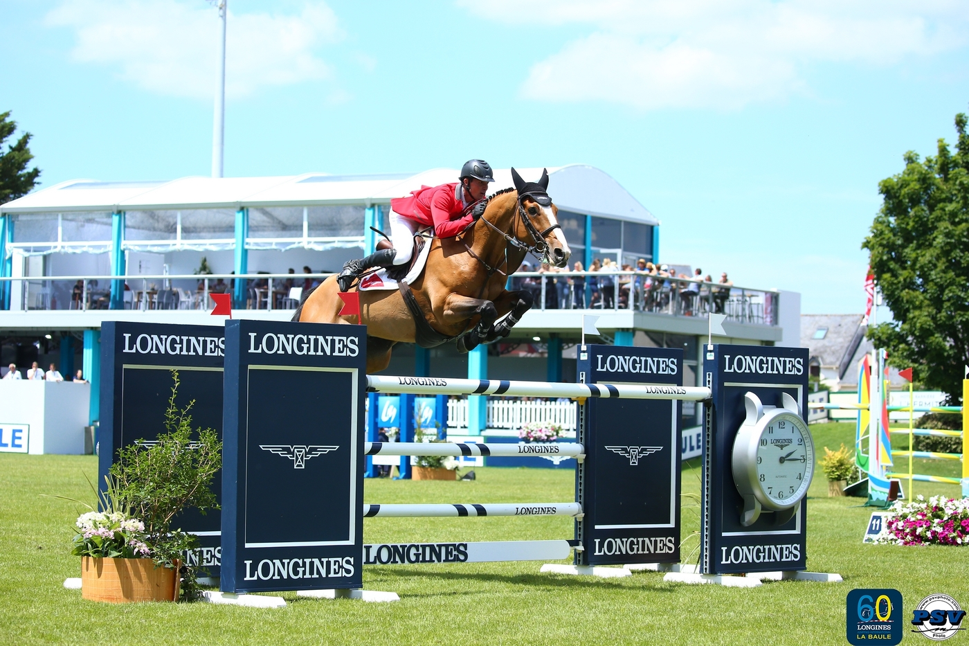 Longines Show Jumping Event: Team Switzerland claims victory to mark the 60th anniversary of the Longines Jumping International of La Baule 1