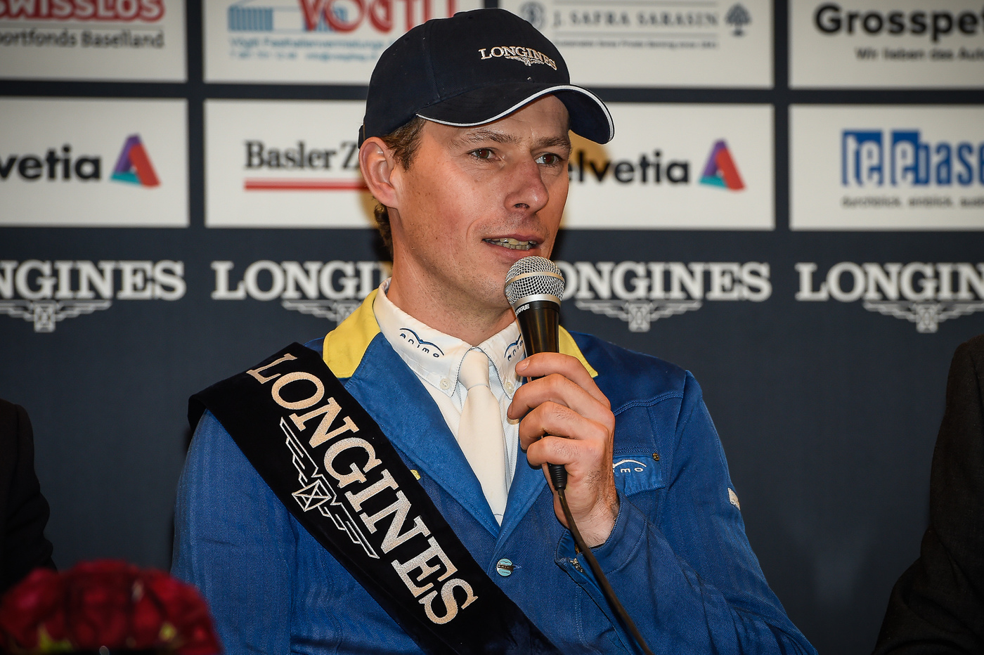 Longines Show Jumping Event: Christian Ahlmann wins the Longines Grand Prix in Basel 2