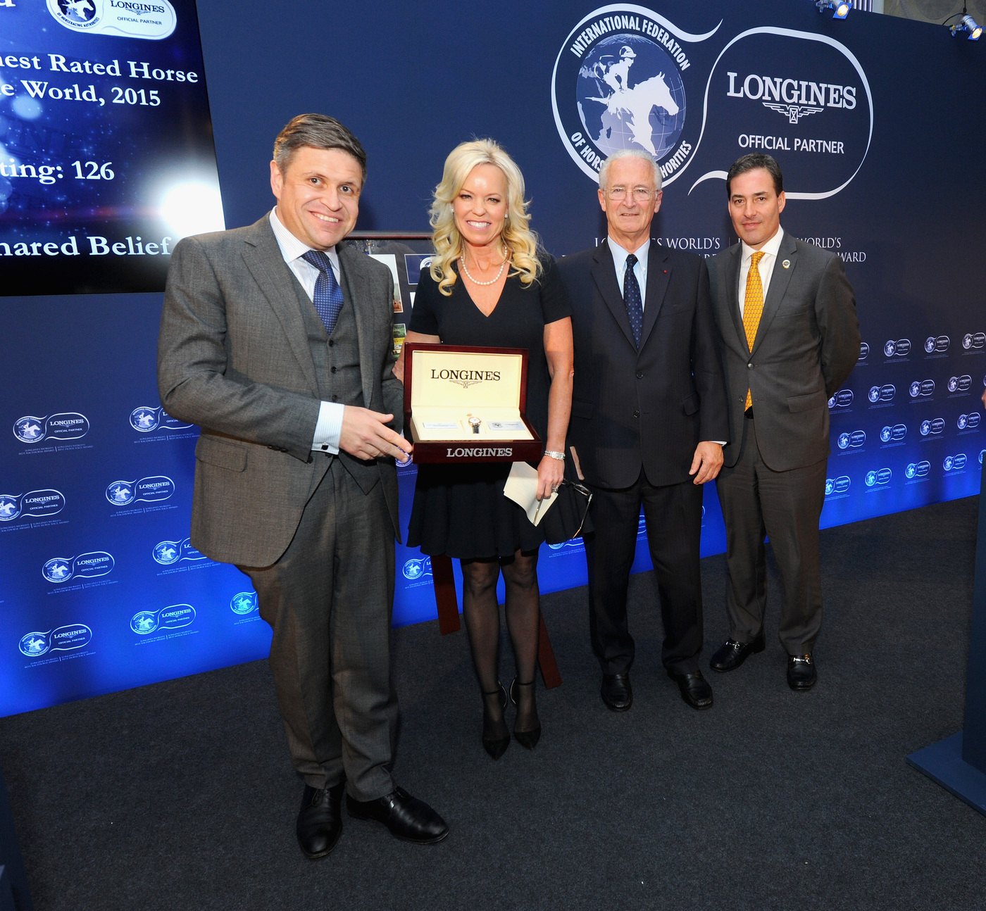 Longines Flat Racing Event: American Pharoah named 2015 Longines World's Best Racehorse, Qatar Prix de l'Arc de Triomphe wins 2015 Longines World's Best Horse Race 3