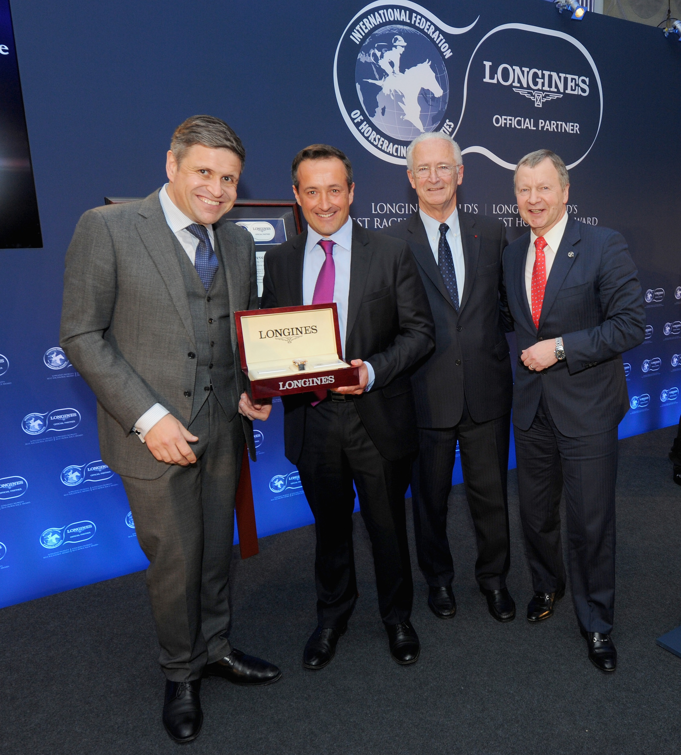 Longines Flat Racing Event: American Pharoah named 2015 Longines World's Best Racehorse, Qatar Prix de l'Arc de Triomphe wins 2015 Longines World's Best Horse Race 4