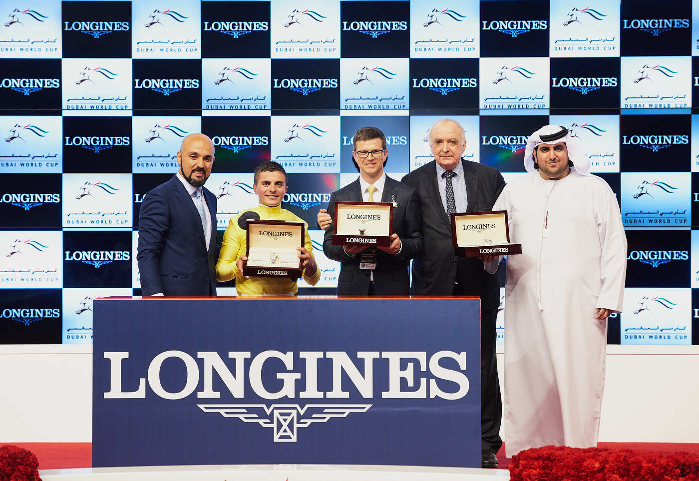 Longines Flat Racing Event: Longines timed the prestigious races of the Dubai World Cup 3