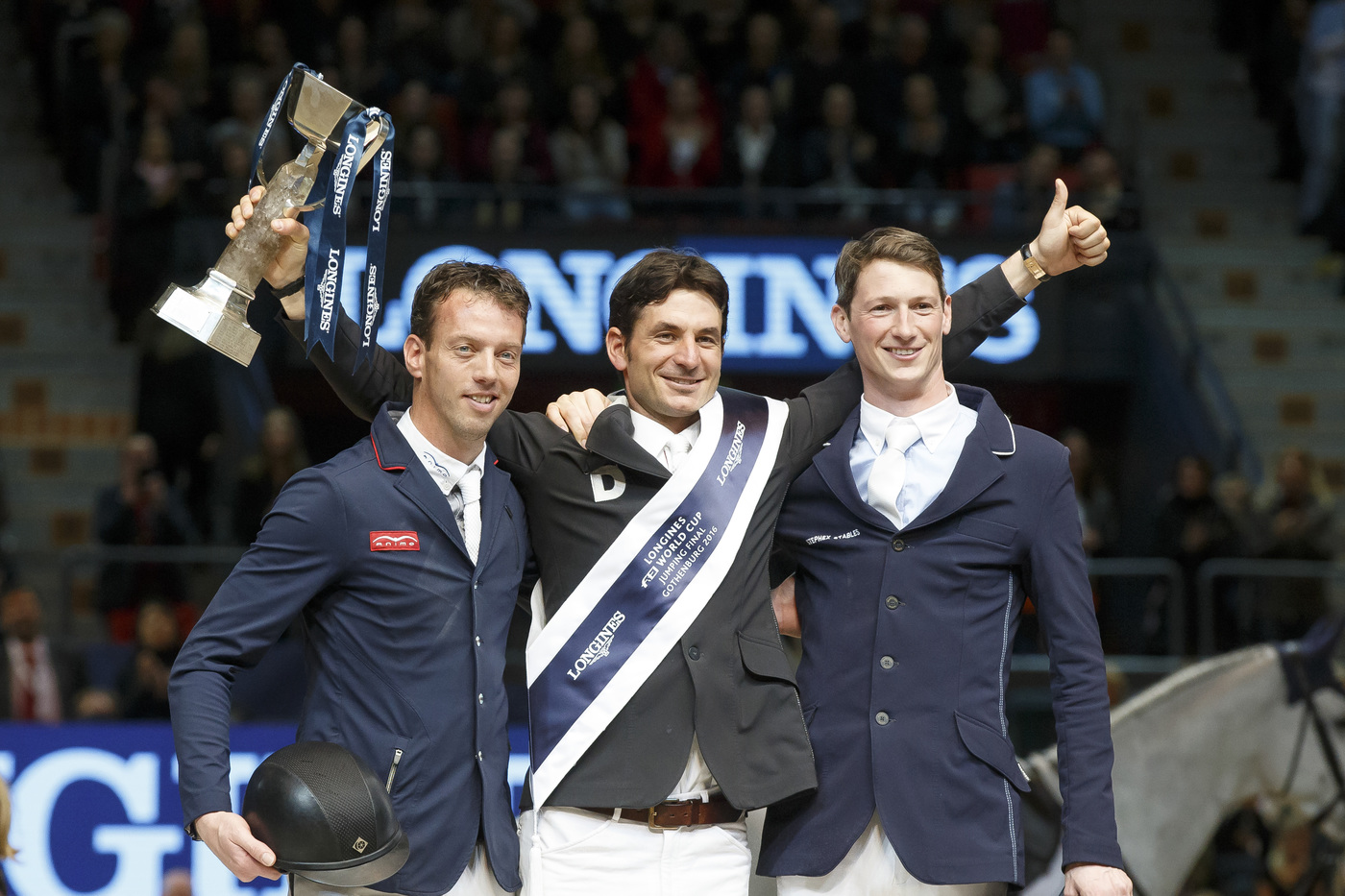 Longines Show Jumping Event: Amazing 2016 Longines FEI World Cup™ Jumping final in Gothenburg  2