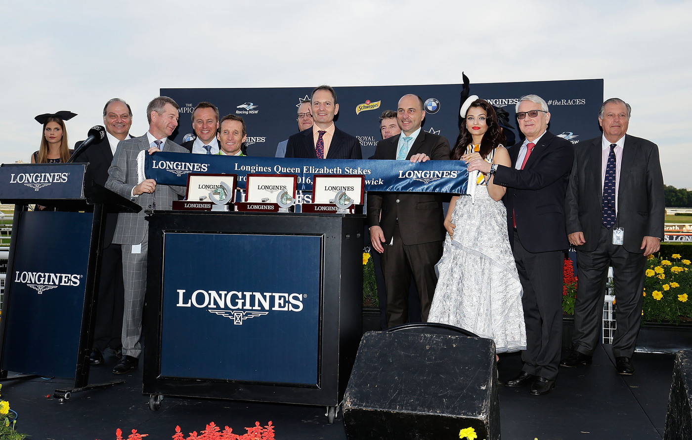 Longines Flat Racing Event: Lucia Valentina and Damien Oliver speed to victory at the Longines Queen Elizabeth Stakes  3
