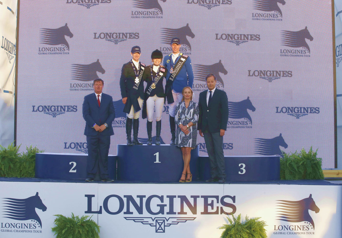 Longines Show Jumping Event: Miami Beach launched the 2016 Longines Global Champions Tour 4