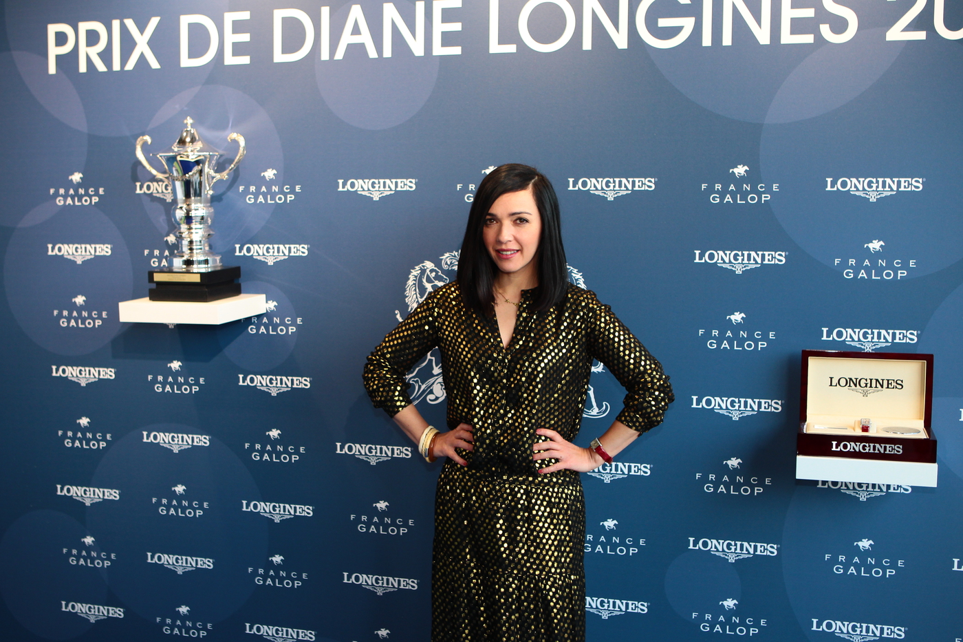 Longines Flat Racing Event: The most elegant Garden Party in the heart of the Prix de Diane Longines ecstatic races 1