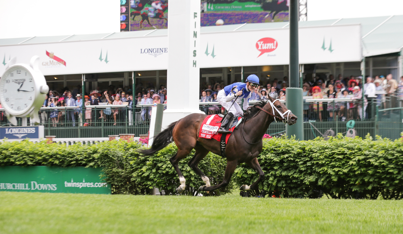 Longines Flat Racing Event: Nyquist Gains Victory at the 142nd Kentucky Derby 2