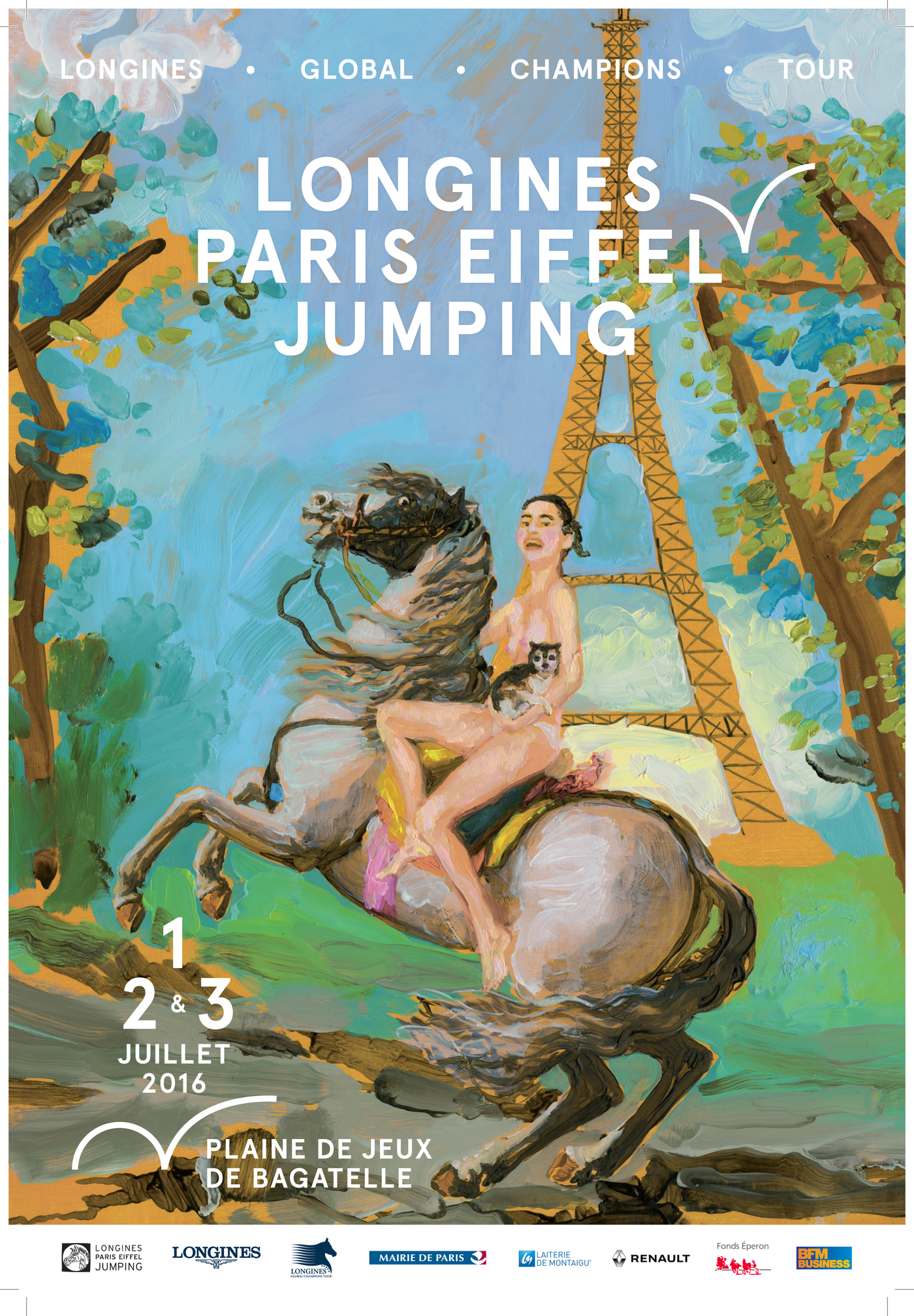 Longines Show Jumping Event: A subtle mix of high-level sport and elegance for the next Longines Paris Eiffel Jumping 2