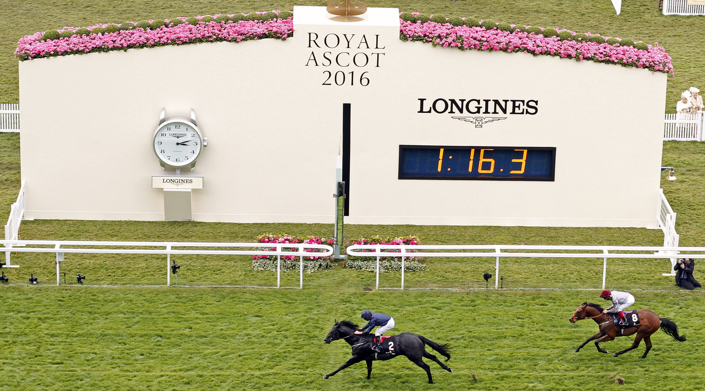 Longines Flat Racing Event: Longines Times Its 10th Royal Ascot   2