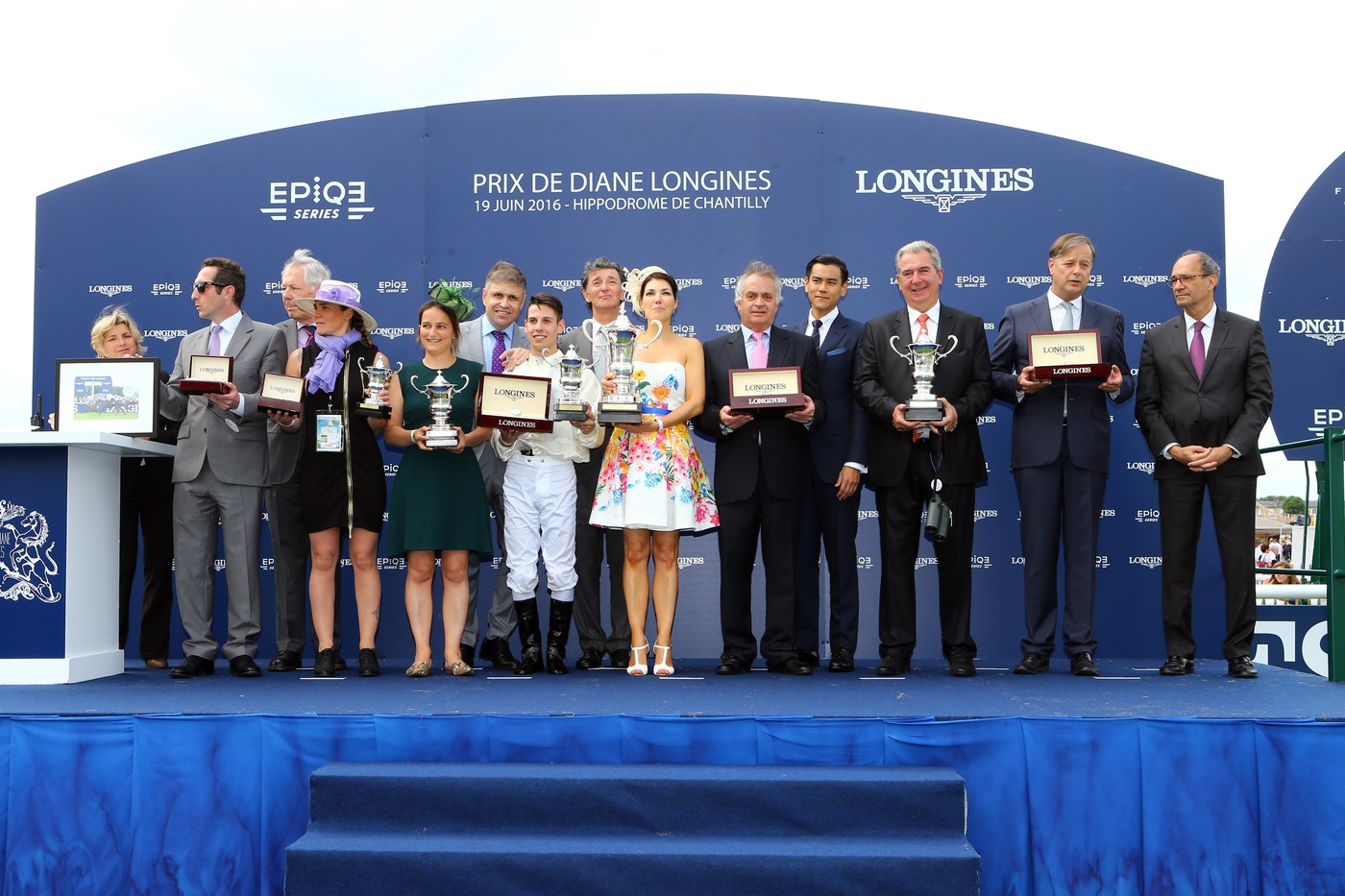 Longines Flat Racing Event: La Cressonnière is 2016 Prix de Diane Longines champion 5