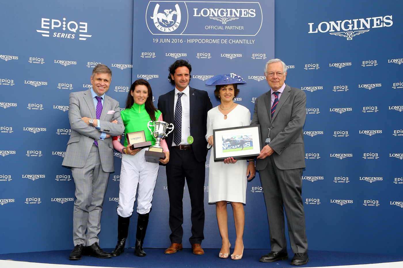 Longines Flat Racing Event: La Cressonnière is 2016 Prix de Diane Longines champion 11