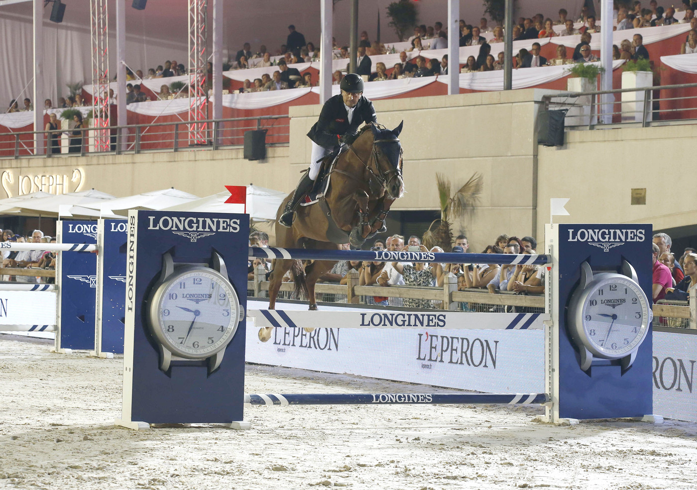 Longines Show Jumping Event: The Longines Global Champions Tour of Monaco attracted horse enthusiasts in the glamorous Principality  3