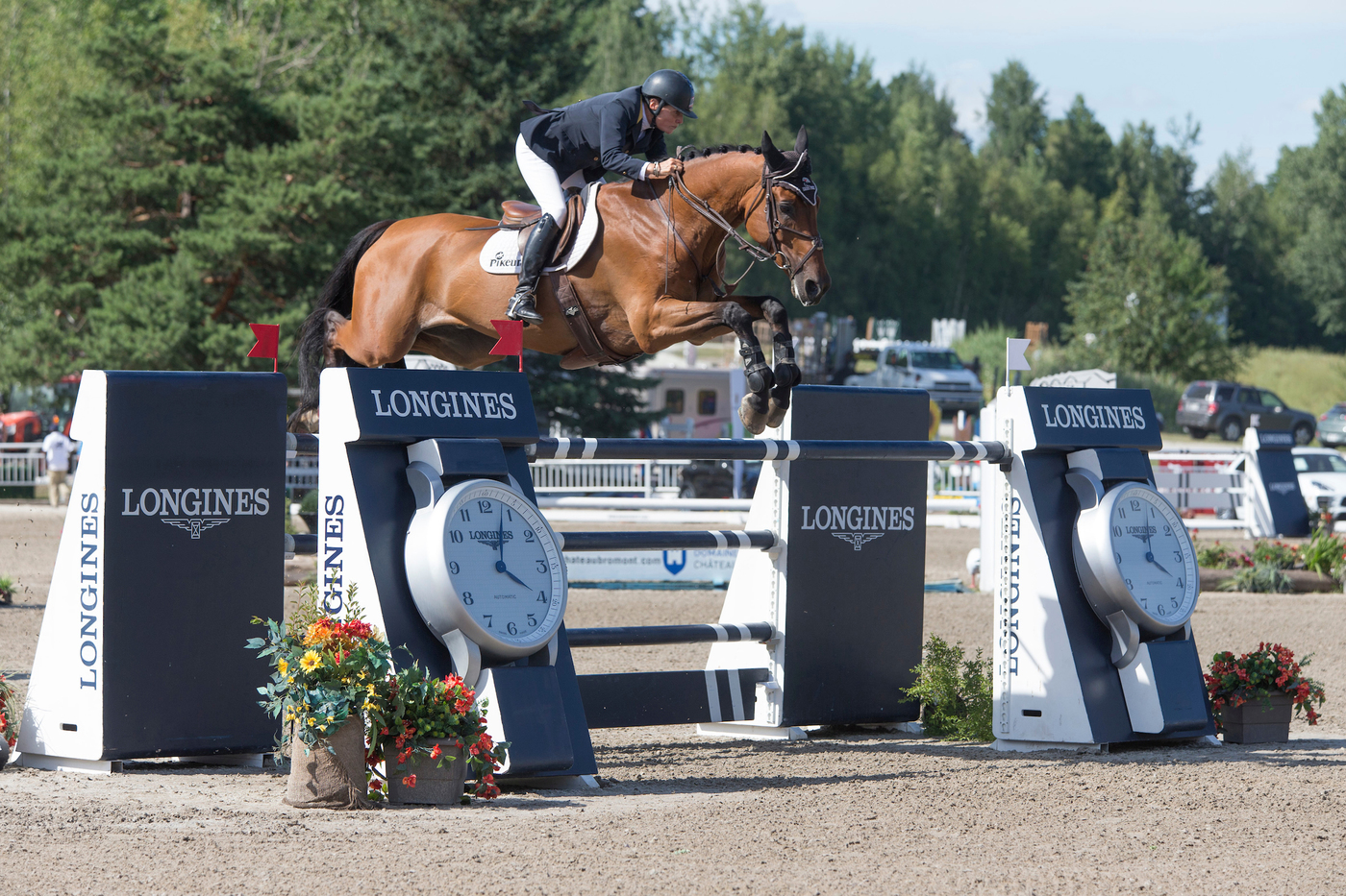 Longines Show Jumping Event: New season of the Longines FEI World CupTM Jumping North American League opens with the victory of Jonathan McCrea in Bromont 4
