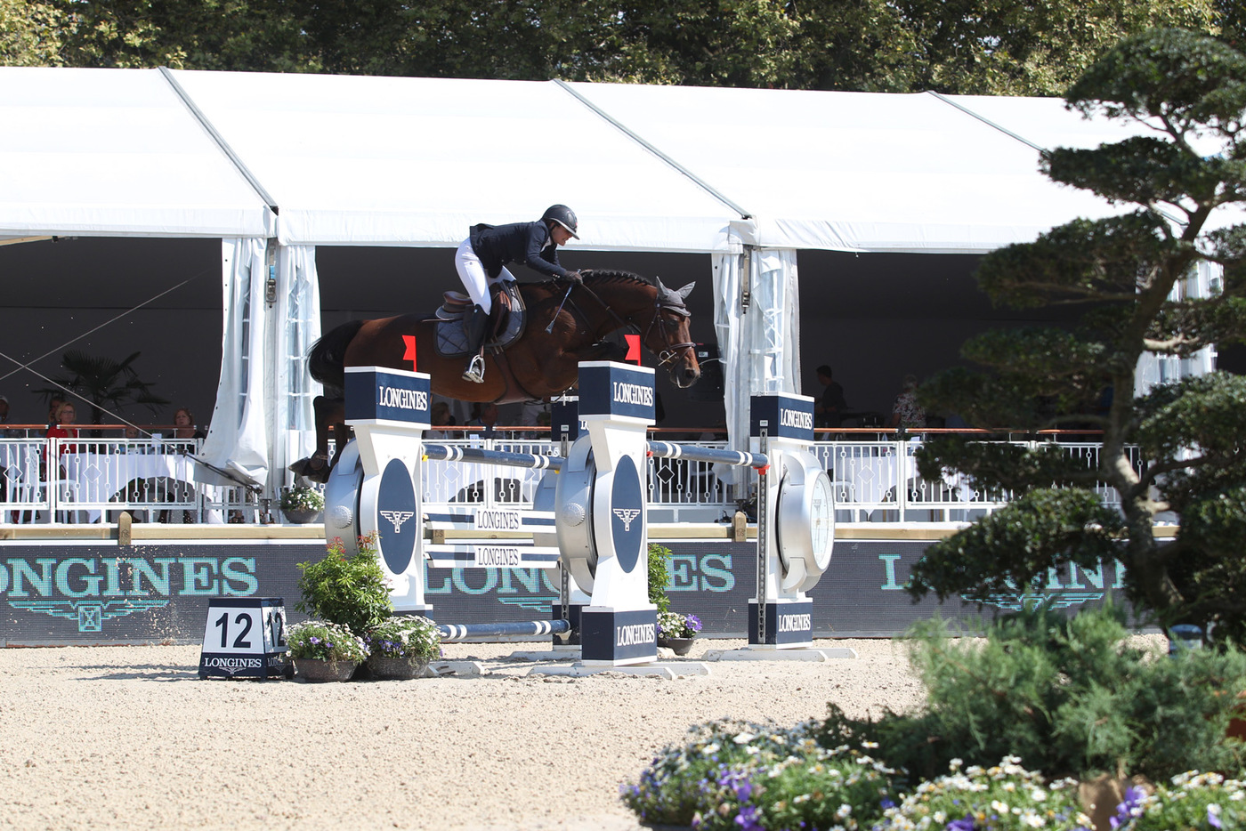 Longines Show Jumping Event: Robert Whitaker (GBR) wins the Grand Prix Longines of the City of Lausanne 6