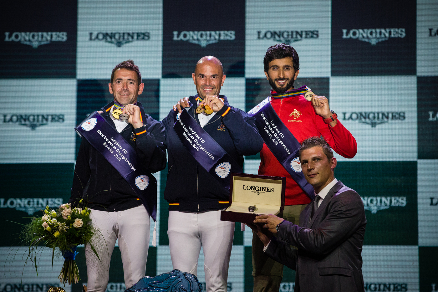 Longines Endurance Event: Jaume Punti Dachs and Twyst Maison Blanche won the 160 km ride at 2016 Longines FEI World Endurance Championships  1