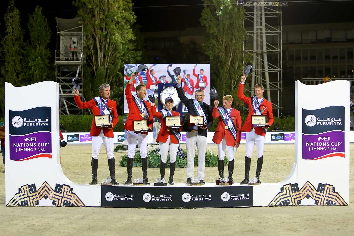 Longines Show Jumping Event: Team Germany captured the final of the 2016 Furusiyya FEI Nations CupTM Jumping at CSIO Barcelona  1