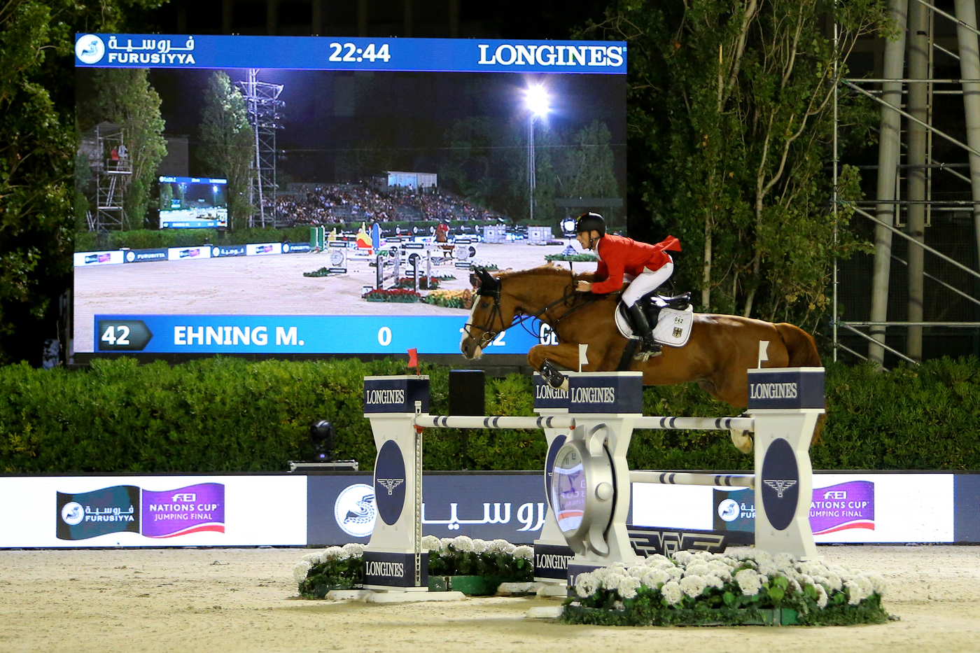 Longines Show Jumping Event: Team Germany captured the final of the 2016 Furusiyya FEI Nations CupTM Jumping at CSIO Barcelona  2