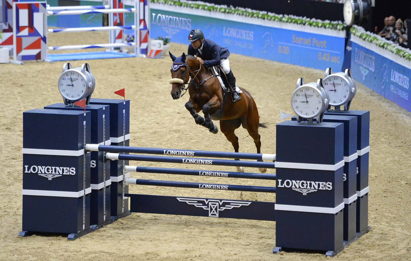 Longines Show Jumping Event: Longines Speed Challenge: Nayel Nassar and Lordan are the fastest 4